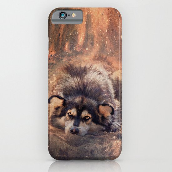 Bright-eyed dreamer iPhone & iPod Case