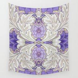 Paris Fantasy Flowers Wall Tapestry