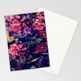 Flowers pattern Stationery Cards