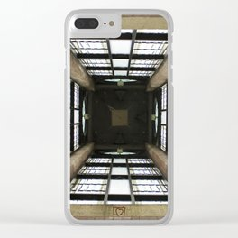 Inside the Clock Tower (day) Clear iPhone Case