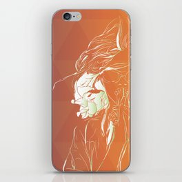 Frambuesas iPhone Skin