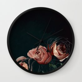All The Pretty Flowers No. 1 Wall Clock