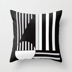 Life Imitates Art Throw Pillow