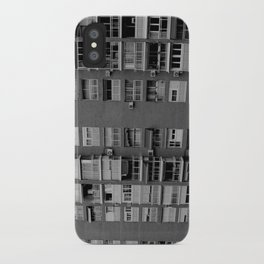 Block of flats. Bee project.  iPhone Case