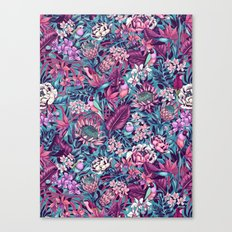 Stand Out! (electric blue) Canvas Print