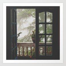 Window Views II Art Print