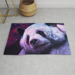 Sleepy Galaxy Giant Panda Rug