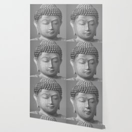 Buddha Face Statue Wallpaper