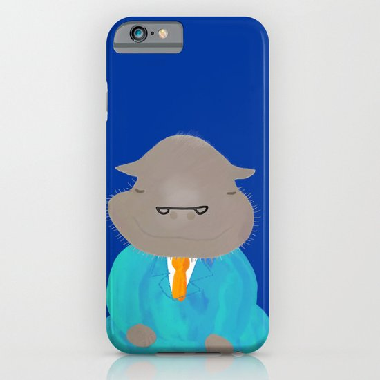 Napping Mr.Hippo iPhone & iPod Case