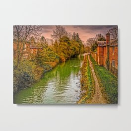 Kennet and Avon Canal Metal Print