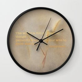 Full of magic Wall Clock