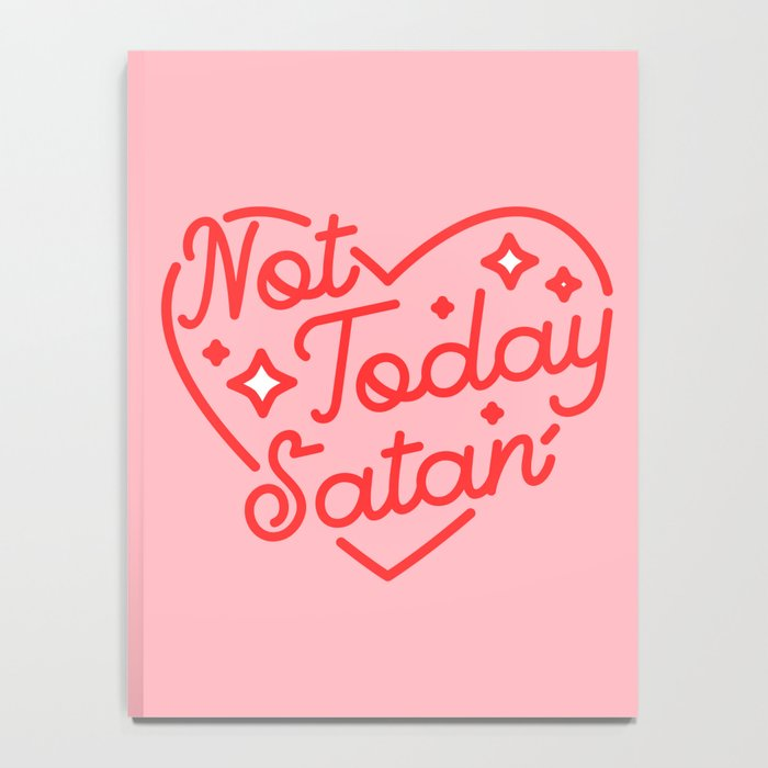not today satan II Notebook