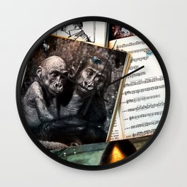 Melody for a Monkey - BERLIN - Germany Wall Clock