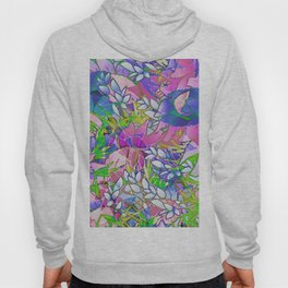 Floral Abstract Artwork G545 Hoody