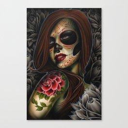 ania dead girl Canvas Print