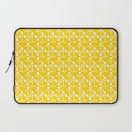 Lattice Pattern (Yellow) Laptop Sleeve