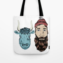 Paul and Babe Tote Bag