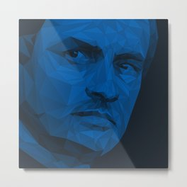 Jose Mourinho / Inter FC – Poly Metal Print