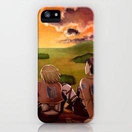 Shingashina trio: sunset iPhone Case