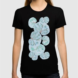 Sea Grape Tropical Leaves T-shirt