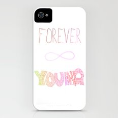 Forever Young Slim Case iPhone (4, 4s)
