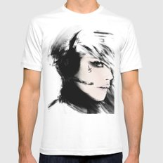 Roger That! MEDIUM White Mens Fitted Tee