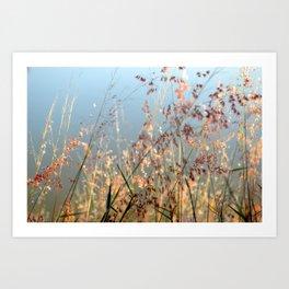 Baila con el viento  Art Print