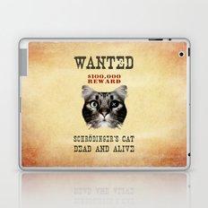 Schrödinger's cat Laptop & iPad Skin