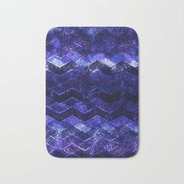 Glitter Waves III Bath Mat