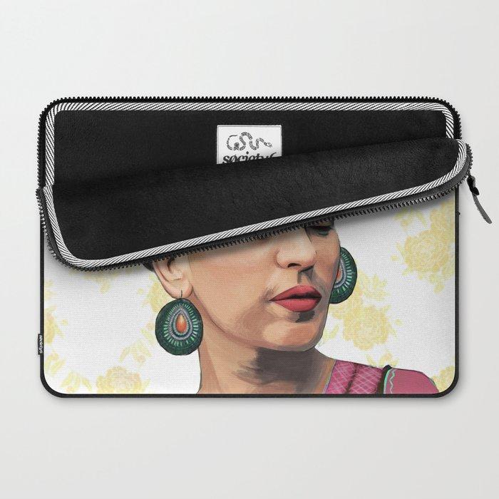 Pink Frida Laptop Sleeve