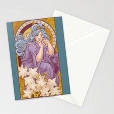 Chronos II Nouveau Stationery Cards