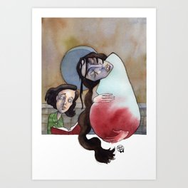 Pan's Labyrinth - Mama Art Print
