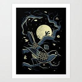 wind up bird chronicle - murakami Art Print