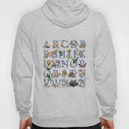 Animal Alphabet Hoody