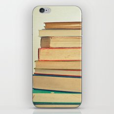 Stack of Books iPhone Skin