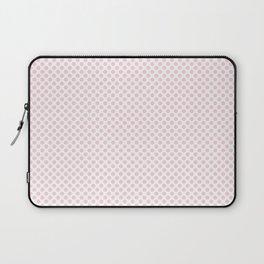 Blushing Bride Polka Dots Laptop Sleeve