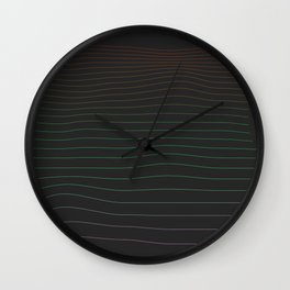 Color Blind Wall Clock