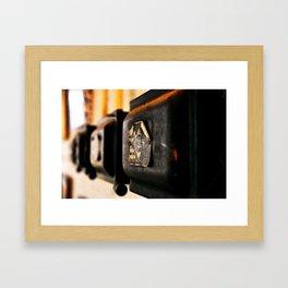Crank It Framed Art Print