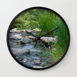 Stream in Mt Lemmon Wall Clock