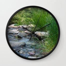 Stream in Mt Lemmon Wall Clock
