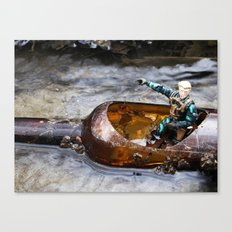 Going into battle Canvas Print