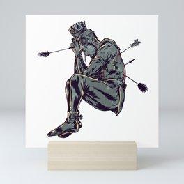 As Saint SEbastian Mini Art Print