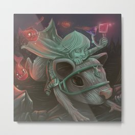 Our knight became a thief!! Metal Print