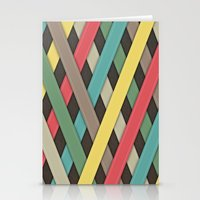 striped Stationery Cards featuring Striped by General Design Studio