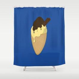 Ice-Cream Shower Curtain