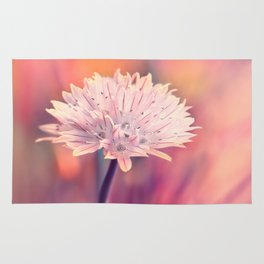 Chive blossom Rug