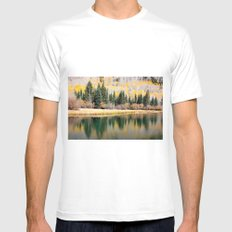 Enchiladas in the Trees 3 White Mens Fitted Tee MEDIUM