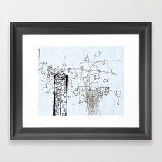 Tower Block Framed Art Print