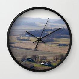 November Farm Wall Clock
