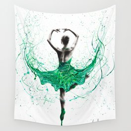 Emerald City Dancer Wall Tapestry